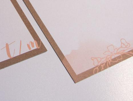 Hochzeitseinladung Detail Design