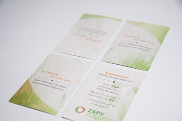 ZAPV Palliative Care Visitenkarten