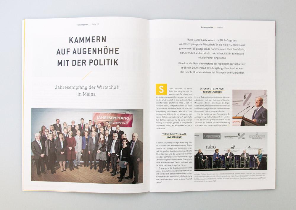 Landeszahnärztekammer Rheinland Pfalz Magazin Innen